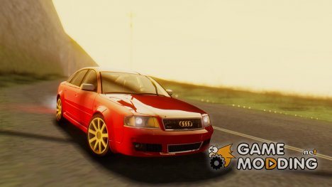 Audi RS6 C5 (HQLM, SA Plates) for GTA San Andreas