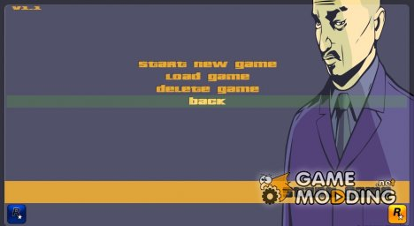 GTA III HD Menu (16:9) for GTA 3