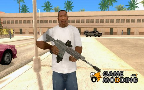 Automatic Gun for GTA San Andreas