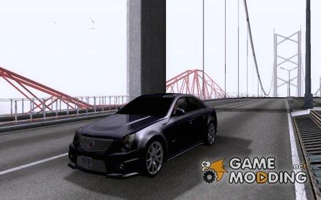 Cadillac CTSV 2009 for GTA San Andreas