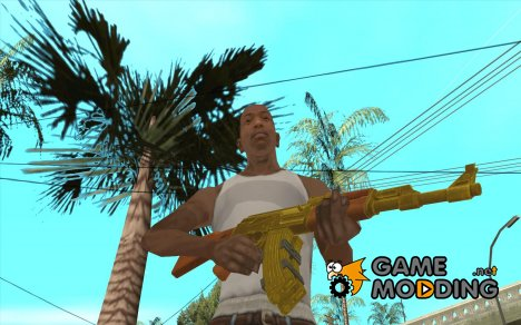 [Point Blank] AK47 Gold for GTA San Andreas