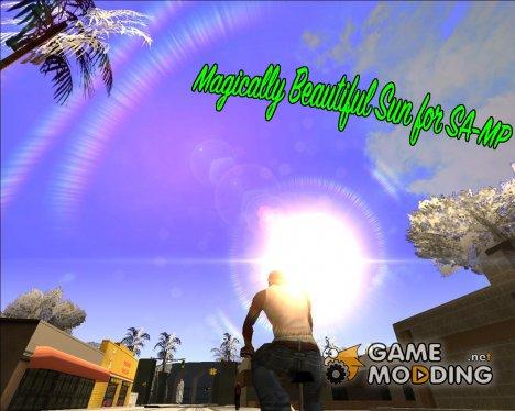 Magically Beautiful Sun for SA-MP для GTA San Andreas
