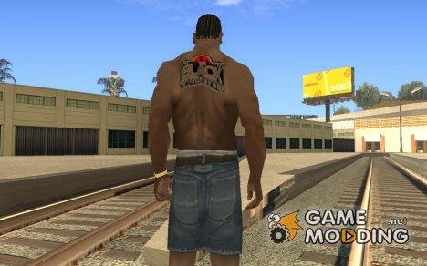 Black Wallstreet Tattoo для GTA San Andreas