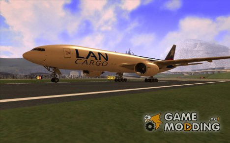 Boeing 777F LAN Cargo for GTA San Andreas