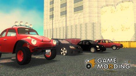 Пак машин Volkswagen для GTA 3
