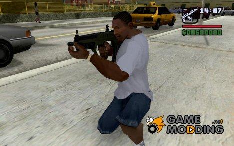 Tavor TAR-21 из GTA V for GTA San Andreas