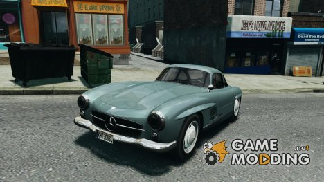 Mercedes-Benz 300 SL GullWing 1954 V1.0 для GTA 4