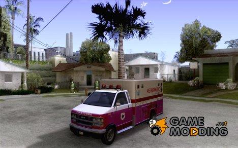 Скорая помощь из GTA IV для GTA San Andreas