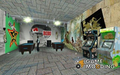 Русский бар в Гантоне в стиле СССР для GTA San Andreas