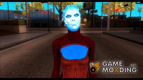 Asari Dancer from Mass Effect для GTA San Andreas