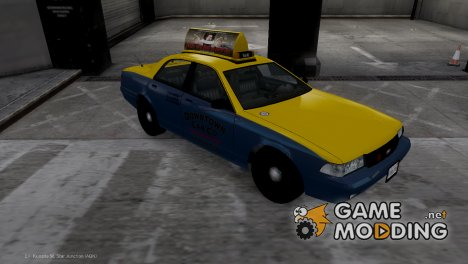 Такси из GTA V for GTA 4