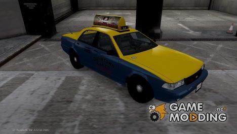 Такси из GTA V для GTA 4