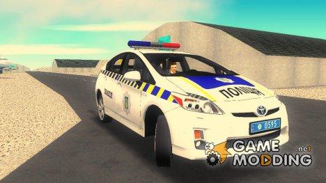 Toyota Prius Полиция Украины v1.4 for GTA 3