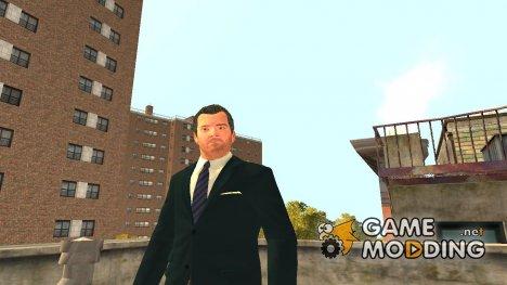Майкл из GTA 5 для GTA 4