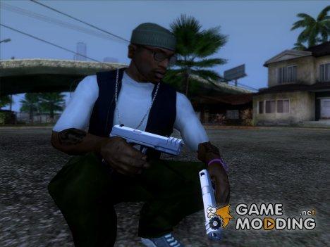 Пистолет из игры 25 to life для GTA San Andreas