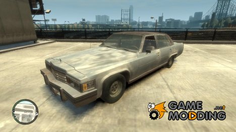 1978 Cadillac Fleetwood (Rusty) для GTA 4