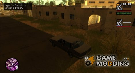 2-Player Mode Enhancements для GTA San Andreas