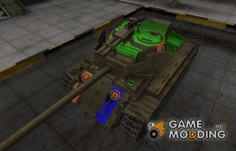 Качественный скин для T26E4 SuperPershing for World of Tanks