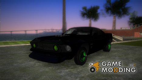 Ford Mustang RTR-X 1969 for GTA Vice City