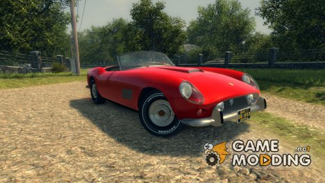 Ferrari 250 California 1957 for Mafia II
