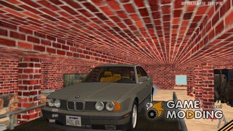 Вход в закрытый и скрытый гараж в Криминальной России для GTA San Andreas