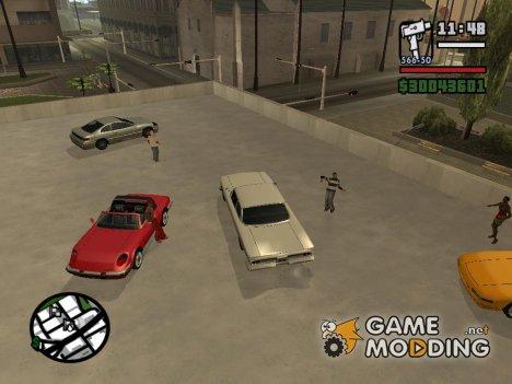 Street races for GTA San Andreas