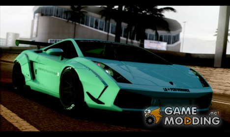 2005 Lamborghini Gallardo Liberty Walk LB Performance для GTA San Andreas