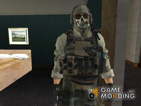 Пак нескольких персонажей из Call-of-Duty для GTA San Andreas