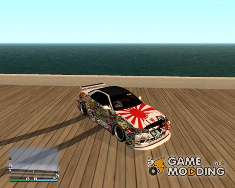 Nissan Skyline Extream Drift для GTA San Andreas