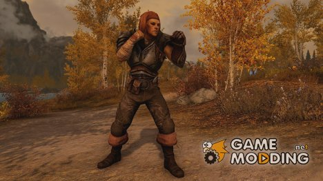 Mercenary Soldier Armor для TES V Skyrim