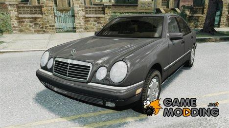 Mercedes E280 w210 1998г for GTA 4