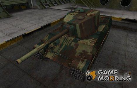 Французкий новый скин для AMX M4 mle. 45 for World of Tanks
