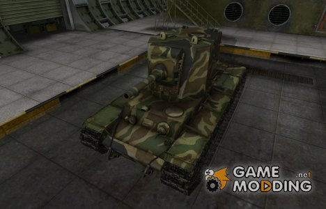 Скин для танка СССР КВ-2 для World of Tanks