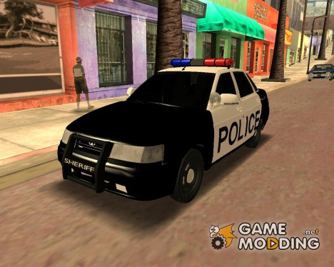 Ваз 2110 Police для GTA San Andreas