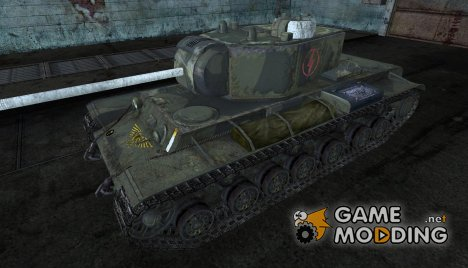 Шкурка для КВ-3 (Вахраммер) for World of Tanks