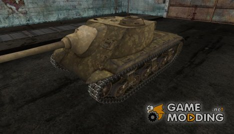 Шкурка для T25 AT для World of Tanks