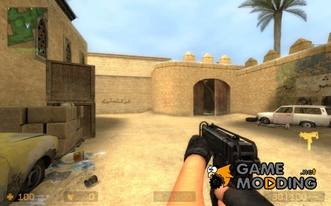 Scorpion stock holded для Counter-Strike Source