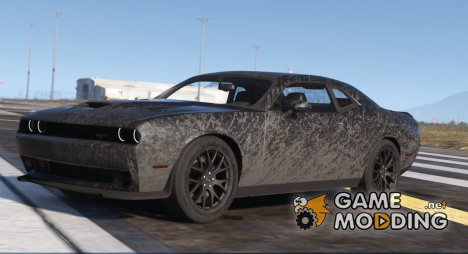 Dodge Challenger Hellcat 2016 1.1 for GTA 5