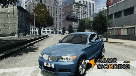 BMW 135i Coupe v1.0 2009 для GTA 4