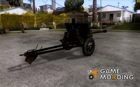 Пушка ЗИС-3 for GTA San Andreas