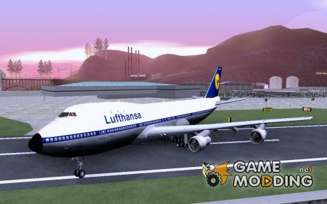 Boeing 747-100 Lufthansa для GTA San Andreas