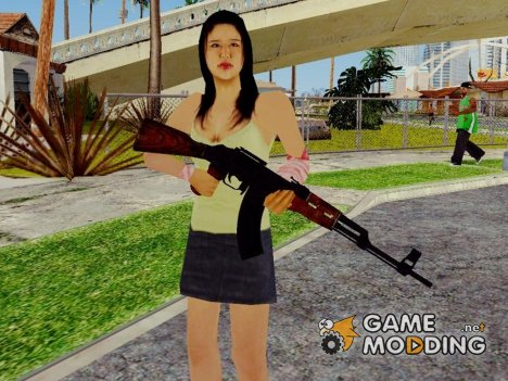 COD Advanced Warfare AK47 для GTA San Andreas