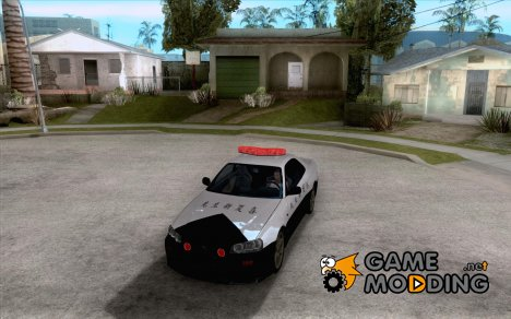 Nissan Skyline Japan Police for GTA San Andreas