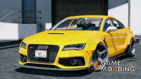 Audi RS7 X-UK v1.1 для GTA 5