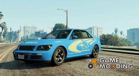 Sultan Impreza WRX STI for GTA 5