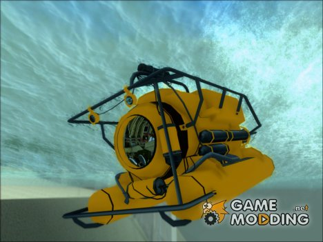 Подводный Аппарат (Submarine) из GTA V for GTA San Andreas
