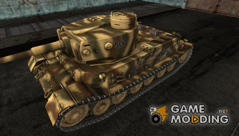 Шкурка для PzKpfw VI Tiger (P) for World of Tanks