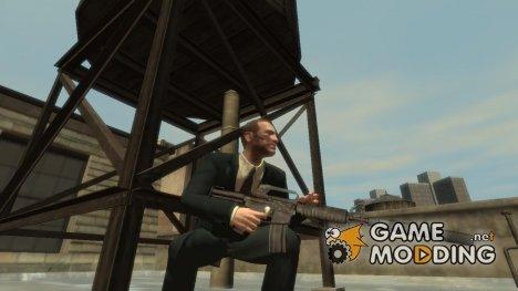 Автомат M4 SMG с глушителем for GTA 4