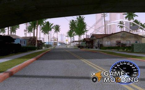 Volkswagen спидометр для GTA San Andreas