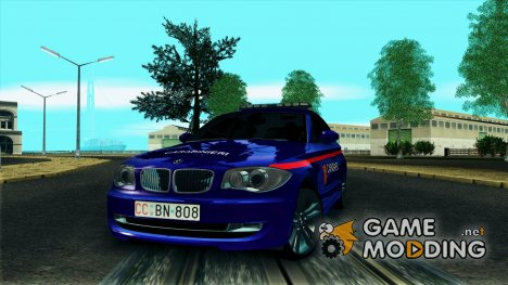 BMW 120i SE Carabinieri for GTA San Andreas